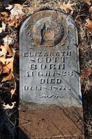 SCOTT, ELIZABATH - Searcy County, Arkansas | ELIZABATH SCOTT - Arkansas Gravestone Photos