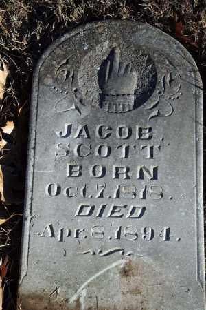 SCOTT, JACOB - Searcy County, Arkansas | JACOB SCOTT - Arkansas Gravestone Photos