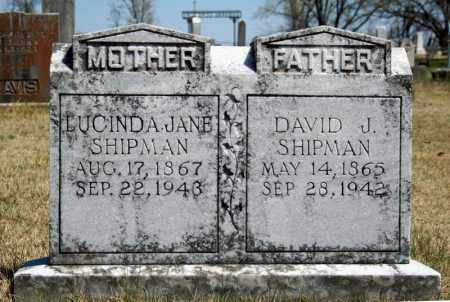 SHIPMAN, LUCINDA JANE - Searcy County, Arkansas | LUCINDA JANE SHIPMAN - Arkansas Gravestone Photos