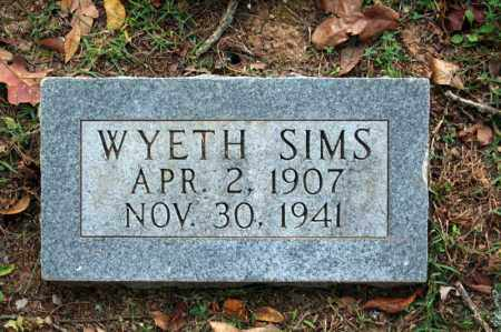 SIMS, WYETH - Searcy County, Arkansas | WYETH SIMS - Arkansas Gravestone Photos