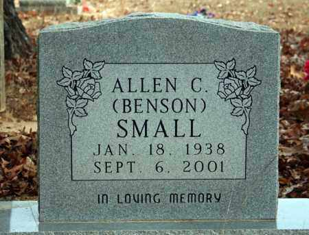 SMALL, ALLEN C. (BENSON) - Searcy County, Arkansas | ALLEN C. (BENSON) SMALL - Arkansas Gravestone Photos