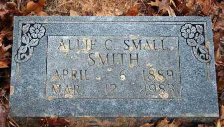 SMALL SMITH, ALLIE C. - Searcy County, Arkansas | ALLIE C. SMALL SMITH - Arkansas Gravestone Photos