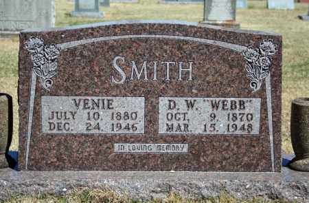 "SMITH, D.W. ""WEBB"" - Searcy County, Arkansas 