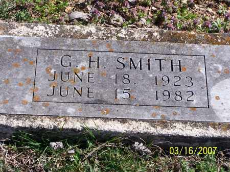 SMITH, G. H. - Searcy County, Arkansas | G. H. SMITH - Arkansas Gravestone Photos