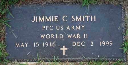 SMITH  (VETERAN WWII), JIMMIE C. - Searcy County, Arkansas | JIMMIE C. SMITH  (VETERAN WWII) - Arkansas Gravestone Photos