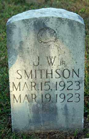 SMITHSON, J.W. JR. - Searcy County, Arkansas | J.W. JR. SMITHSON - Arkansas Gravestone Photos