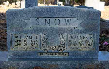 SNOW, WILLIAM T. - Searcy County, Arkansas | WILLIAM T. SNOW - Arkansas Gravestone Photos