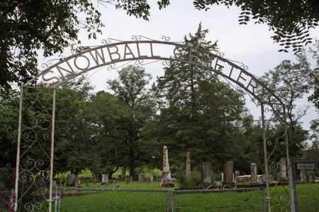*SNOWBALL CEMETERY GATE,  - Searcy County, Arkansas |  *SNOWBALL CEMETERY GATE - Arkansas Gravestone Photos