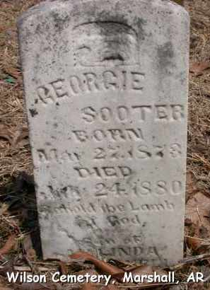 SOOTER, GEORGIE - Searcy County, Arkansas | GEORGIE SOOTER - Arkansas Gravestone Photos
