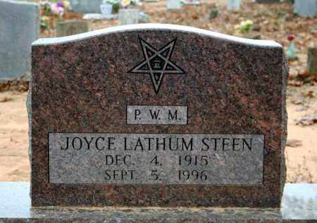 LATHUM STEEN, JOYCE - Searcy County, Arkansas | JOYCE LATHUM STEEN - Arkansas Gravestone Photos