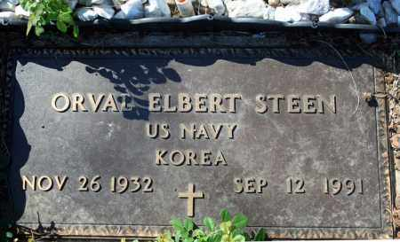 STEEN (VETERAN KOR), ORVAL ELBERT - Searcy County, Arkansas | ORVAL ELBERT STEEN (VETERAN KOR) - Arkansas Gravestone Photos