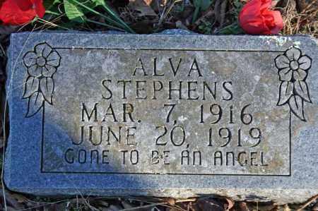 STEPHENS, ALVA - Searcy County, Arkansas | ALVA STEPHENS - Arkansas Gravestone Photos