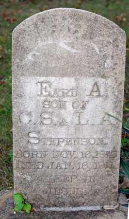 STEPHENSON, EARL A. - Searcy County, Arkansas | EARL A. STEPHENSON - Arkansas Gravestone Photos