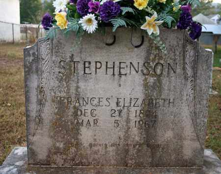 HORTON STEPHENSON, FRANCES ELIZABETH - Searcy County, Arkansas | FRANCES ELIZABETH HORTON STEPHENSON - Arkansas Gravestone Photos
