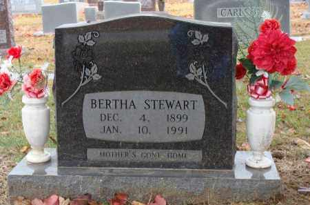 STEWART, BERTHA - Searcy County, Arkansas | BERTHA STEWART - Arkansas Gravestone Photos