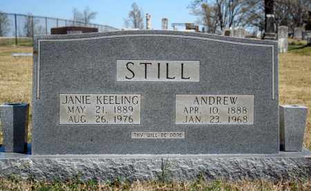 STILL, ANDREW - Searcy County, Arkansas | ANDREW STILL - Arkansas Gravestone Photos