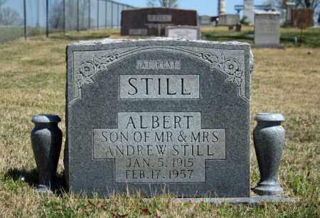 STILL, ALBERT - Searcy County, Arkansas | ALBERT STILL - Arkansas Gravestone Photos