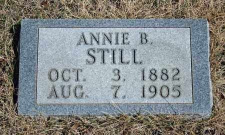 STILL, ANNIE B. - Searcy County, Arkansas | ANNIE B. STILL - Arkansas Gravestone Photos