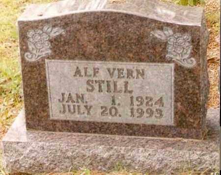 STILL, ALF VERN - Searcy County, Arkansas | ALF VERN STILL - Arkansas Gravestone Photos