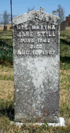 STILL, MARTHA JANE - Searcy County, Arkansas | MARTHA JANE STILL - Arkansas Gravestone Photos