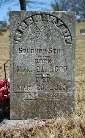 STILL, SOLOMON - Searcy County, Arkansas | SOLOMON STILL - Arkansas Gravestone Photos