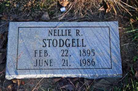 STODGELL, NELLIE R. (SUTTON) - Searcy County, Arkansas | NELLIE R. (SUTTON) STODGELL - Arkansas Gravestone Photos