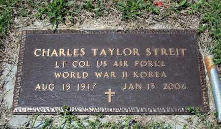 STREIT (VETERAN 2 WARS), CHARLES TAYLOR - Searcy County, Arkansas | CHARLES TAYLOR STREIT (VETERAN 2 WARS) - Arkansas Gravestone Photos