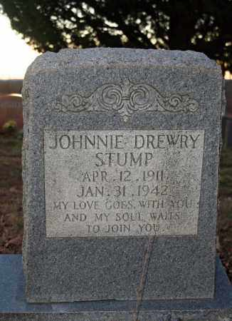 STUMP, JOHNNIE DREWRY - Searcy County, Arkansas | JOHNNIE DREWRY STUMP - Arkansas Gravestone Photos