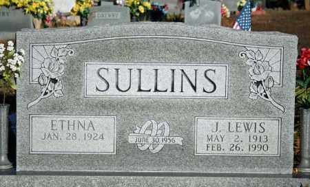 SULLINS, ETHNA - Searcy County, Arkansas | ETHNA SULLINS - Arkansas Gravestone Photos