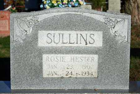 SULLINS, ROSIE HESTER (HANKINS) - Searcy County, Arkansas | ROSIE HESTER (HANKINS) SULLINS - Arkansas Gravestone Photos