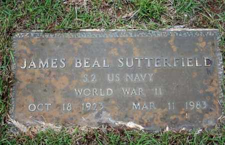 SUTTERFIELD (VETERAN WWII), JAMES BEAL - Searcy County, Arkansas | JAMES BEAL SUTTERFIELD (VETERAN WWII) - Arkansas Gravestone Photos