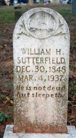SUTTERFIELD, WILLIAM H. - Searcy County, Arkansas | WILLIAM H. SUTTERFIELD - Arkansas Gravestone Photos