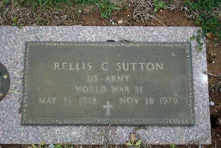 SUTTON (VETERAN WWII), RELLIS C - Searcy County, Arkansas | RELLIS C SUTTON (VETERAN WWII) - Arkansas Gravestone Photos