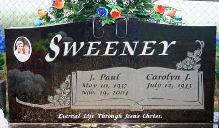 SWEENEY, J. PAUL - Searcy County, Arkansas | J. PAUL SWEENEY - Arkansas Gravestone Photos