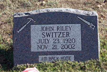 SWITZER, JOHN RILEY - Searcy County, Arkansas | JOHN RILEY SWITZER - Arkansas Gravestone Photos
