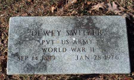 SWITZER (VETERAN WWII), DEWEY - Searcy County, Arkansas | DEWEY SWITZER (VETERAN WWII) - Arkansas Gravestone Photos