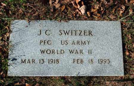 SWITZER (VETERAN WWII), J C - Searcy County, Arkansas | J C SWITZER (VETERAN WWII) - Arkansas Gravestone Photos