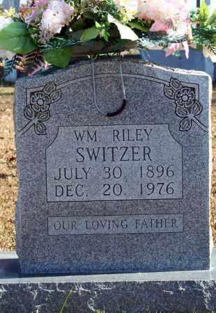 SWITZER, WM. RILEY - Searcy County, Arkansas | WM. RILEY SWITZER - Arkansas Gravestone Photos