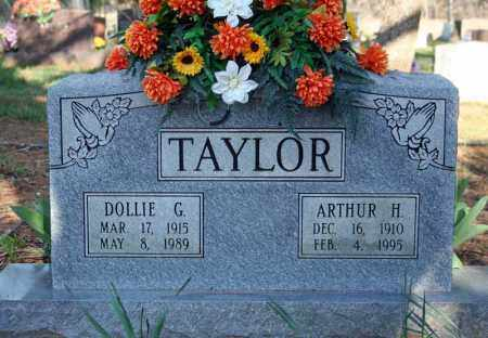 CASH TAYLOR, DOLLIE G. - Searcy County, Arkansas | DOLLIE G. CASH TAYLOR - Arkansas Gravestone Photos