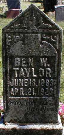 TAYLOR, BENJAMIN W. - Searcy County, Arkansas | BENJAMIN W. TAYLOR - Arkansas Gravestone Photos