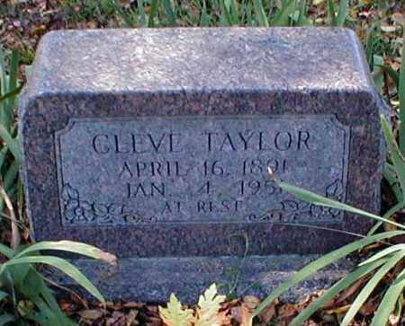 TAYLOR, CLEVE - Searcy County, Arkansas | CLEVE TAYLOR - Arkansas Gravestone Photos