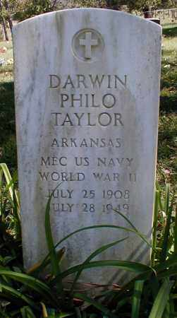 TAYLOR  (VETERAN WWII), DARWIN PHILO - Searcy County, Arkansas | DARWIN PHILO TAYLOR  (VETERAN WWII) - Arkansas Gravestone Photos