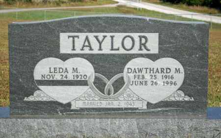 TAYLOR, LEDA M. - Searcy County, Arkansas | LEDA M. TAYLOR - Arkansas Gravestone Photos