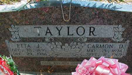 TAYLOR, ETTA J. - Searcy County, Arkansas | ETTA J. TAYLOR - Arkansas Gravestone Photos