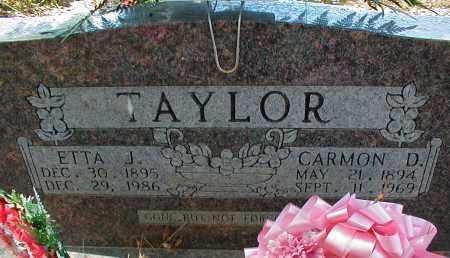 TAYLOR, CARMON D - Searcy County, Arkansas | CARMON D TAYLOR - Arkansas Gravestone Photos