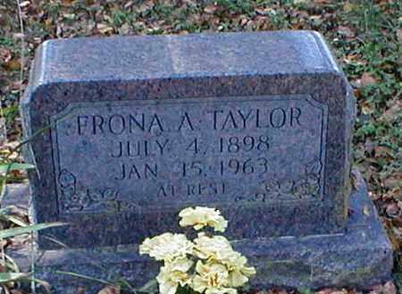 TAYLOR, FRONA A. - Searcy County, Arkansas | FRONA A. TAYLOR - Arkansas Gravestone Photos