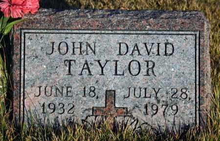 TAYLOR, JOHN DAVID - Searcy County, Arkansas | JOHN DAVID TAYLOR - Arkansas Gravestone Photos
