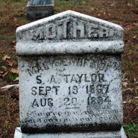 TAYLOR, MARY E. - Searcy County, Arkansas | MARY E. TAYLOR - Arkansas Gravestone Photos
