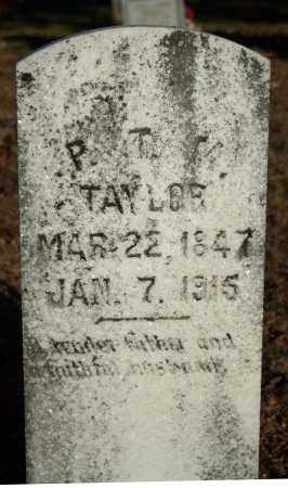 TAYLOR, PATTON TOLL M. - Searcy County, Arkansas | PATTON TOLL M. TAYLOR - Arkansas Gravestone Photos