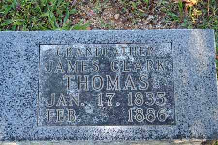 THOMAS, JAMES CLARK - Searcy County, Arkansas | JAMES CLARK THOMAS - Arkansas Gravestone Photos